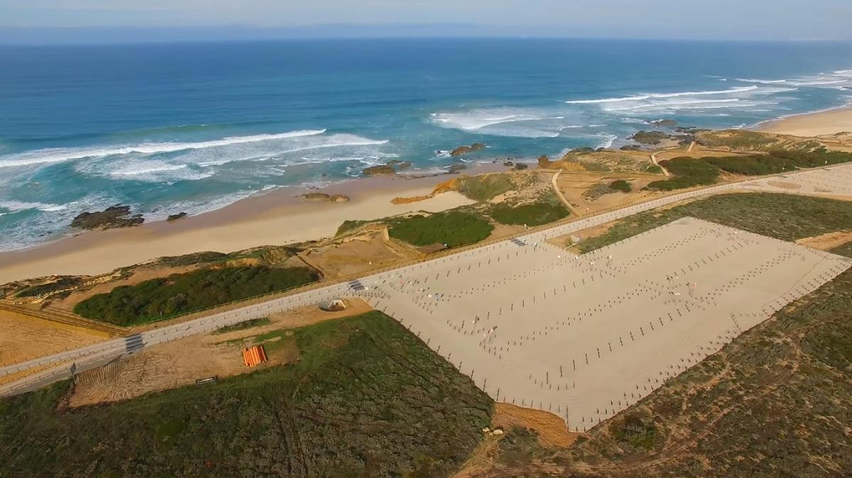 J 225 Conhecem A Nova Praia Do Malh 227 O Beachcam